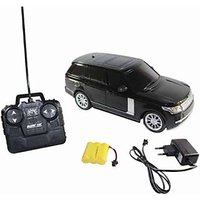 Remote Control Rechargeable Range Rover Model Car - (Black, Red)