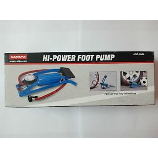COIDO Air Foot Pump 8cm Cylinder Tire/Tyre Inflator for Bike/Car available at ShopClues for Rs.740