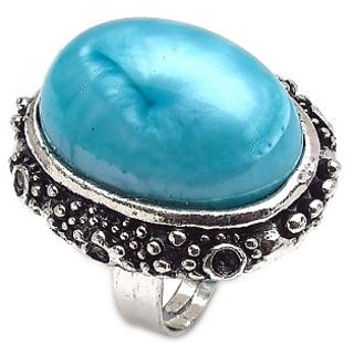 Bijou Adjustable Turquoise Gypsy Ring