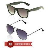 Davidson Cool Blue & Brown Sunglasses Buy 1 Get 1