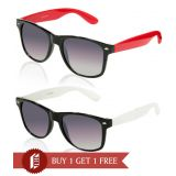 Davidson Cool Red & White Sunglasses Buy 1 Get 1