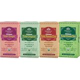 Tulsi Masala Chai Tulsi Ginger Tulsi Original Tulsi Green Set Of 4 100 Tea Bags