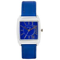 Adine Blue Watch For Women Ad-1227Black Silver