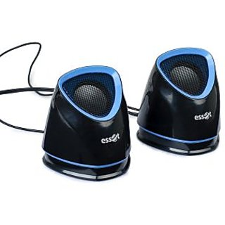 essot Stereo 2.0 Multimedia Speaker for Desktops and Notebooks