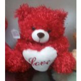Red Teddy Bear Love Soft Toy