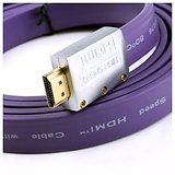 High Speed Hdtv 1080p Flat Hdmi Cable With Ethernet Wii/ Ps2/ Ps3/ Xbox 360