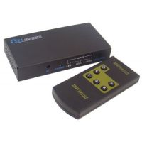 HDMI SWITCHER 3 INPUT 1 OUTPUT 3x1 WITH REMOTE (METAL BODY)