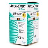 100 Test Strips For AccuChek Accu Chek Active Blood Sugar Glucose & With FREE Sports Water Bottle