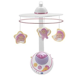 Chicco Magic Star Cot Mobile toy - Pink
