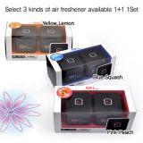 100% Original Black Label Lable Car Gel Air Freshener Perfume-Squash
