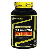 MuscleBlaze Fat Burner Extreme , 90 veg caps