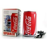 Hiegh Quality Coca Cola USB & Tf Card Multimedia Stereo Speaker+Warranty+1 Gift