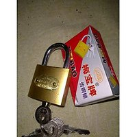 38 MM China Double Locking Lock With 3 Keys