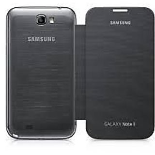 ClickAwaySamsung Galaxy Note 2 Flip Cover available at ShopClues for Rs.199