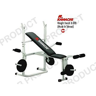KAMACHI WEIGHT LIFTING BENCH INCLINE FLAT FOR EXERCISE FITNESS. ( B003 )