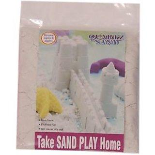 White Quartz Sand + Sand Tool & Tay 500 gms pack