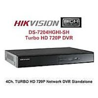 Hikvision 4 Ch Hd Dvr Ds-7204 Ghi-sh New Hd Tvi Technology