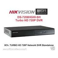Hikvision 8 Ch Hd Dvr Ds-7208 Ghi-sh New Hd Tvi Technology