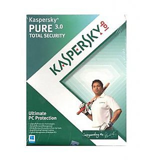 Kaspersky Pure 3.0 total security 1user 1 year