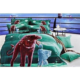 Valtellina 100% Cotton King Size 4D  Bedsheet (TK-005)