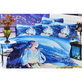 Valtellina 100% Cotton King Size 4D  Bedsheet TK-006