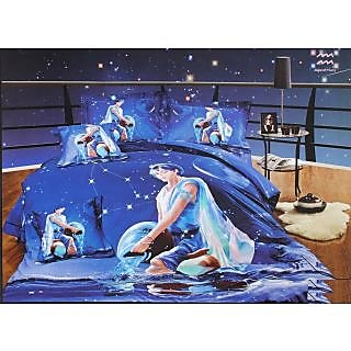 Valtellina 100% Cotton King Size 4D  Bedsheet (TK-020)