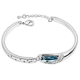 Crunchy Fashion Austrian Crystal Alloy Bracelet