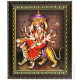 Sri Durga Devi Photo Frame