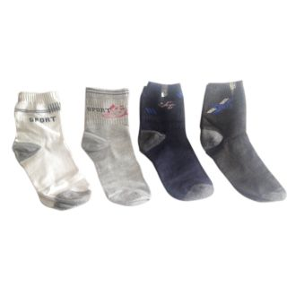 Sports Cotton Socks - set of 4 pairs