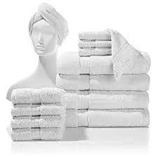 Valtellina 100% cotton set of 4 bath towel & 7 hand towel (BTL-004_HTL_007)