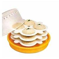 Microwave Idli/Dhokla/Pizza/Cake Maker With 3 Plates