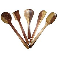 Set Of 5 Pcs. Wooden Skimmers