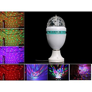 Led Full Color Rotating Lamp For Party Dance Disco Deco