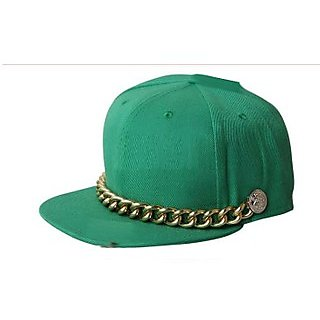 Rocking Hat With Metal Chain