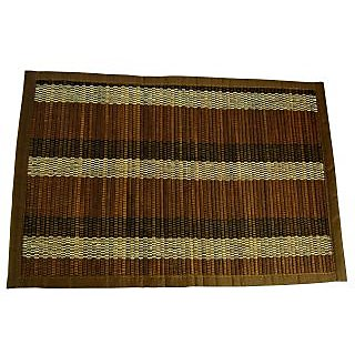 Bamboo Stick  Handloom Cotton Dining Table Mats