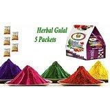 ShaRivz Herbal Gulal - 5 Packet