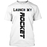 Launch My Rocket Tshirt For Men/Boys, In Round Collar