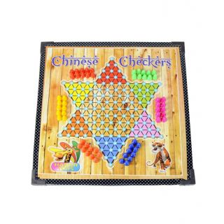 Wooden Chess Chinese Checkers