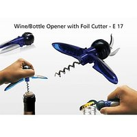 Wine Opener / Bottle Opener With Foil Cutter