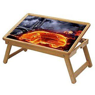 Multipurpose Foldable Wooden Study Table (314)