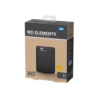 "Western Digital Element 2TB USB Portable External Hard Disk Drive 2.5"" Used"