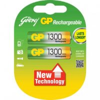 GODREJ GP AA 1300 MAH RECHARGEABLE BATTERIES
