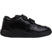 Rex Gola School Shoes Velcro Black And White
