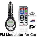 Fm Modulator & Usb/Mmc Player For Car