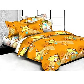 Weaves Cotton Kids Double Bedsheet