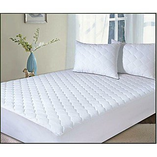 FMP00166_75  Quilted Mattress Protector with skirting (sapphire Collections )