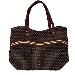 Handloom Cotton ladies Handbag-Purse
