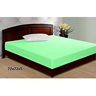 Jbg Home Store 100 Water Proof Double Bed Mattress Cover