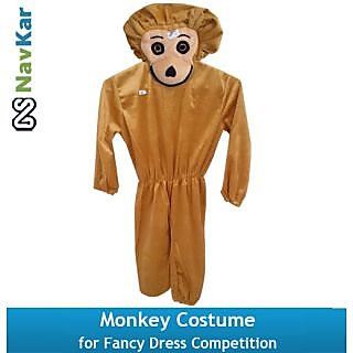 Monkey Costume for Kids Fancy Dress Competition