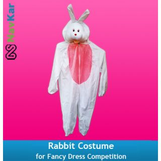 Rabbit Costume for Kids Fancy Dress Competition